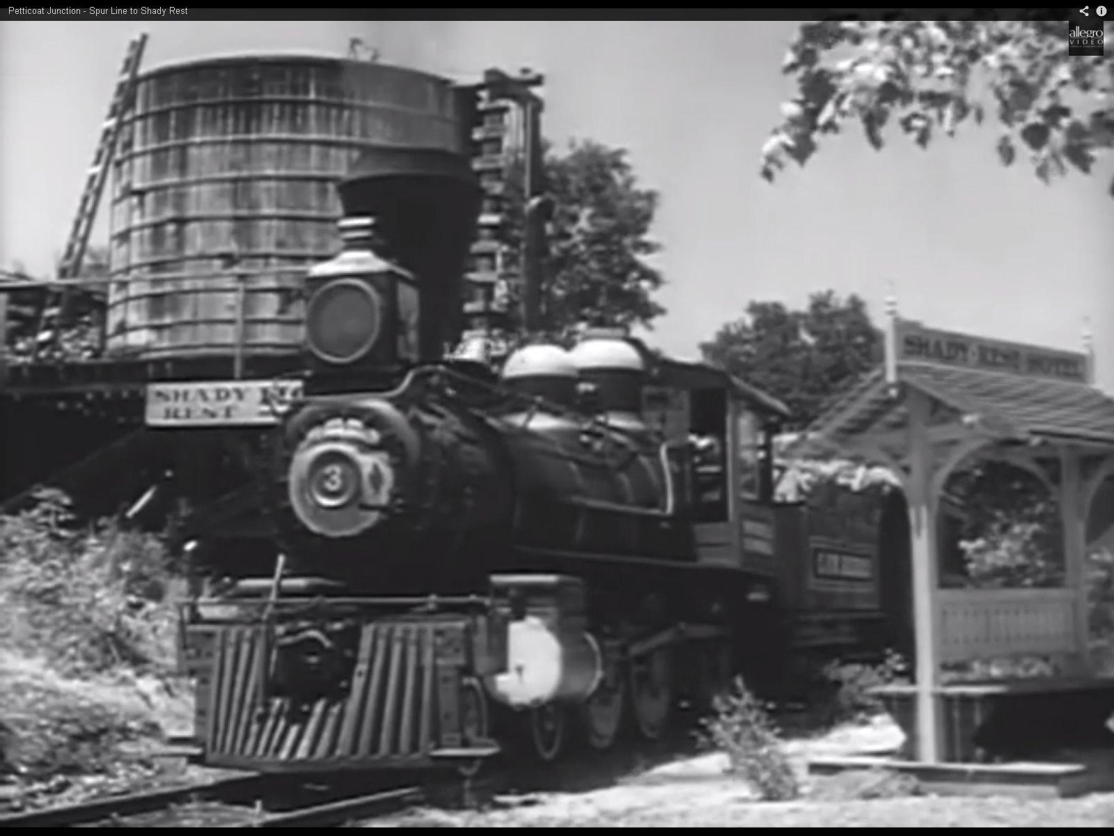 John Haskey Petticoat Junction Passenger Platform At