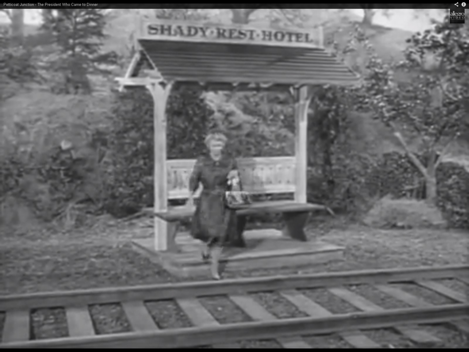 John Haskey Petticoat Junction Passenger Platform At
