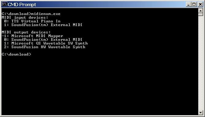 John Haskey - MIDI utility software